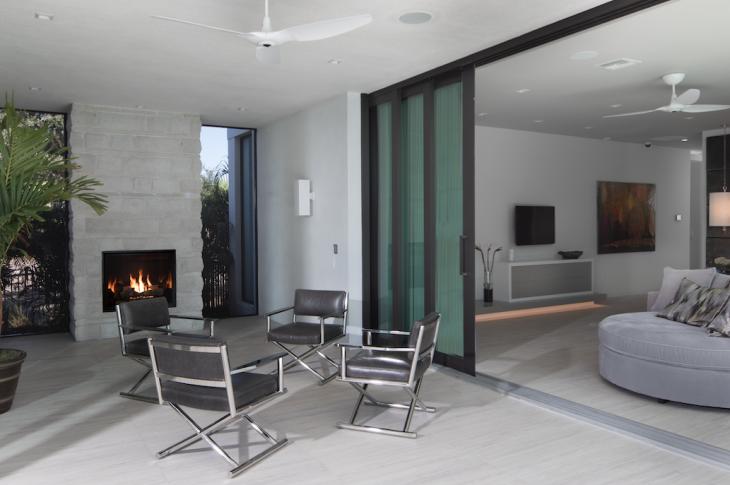 Indoor-outdoor space, The New American Home 2017, Photo: Jeffrey A. Davis