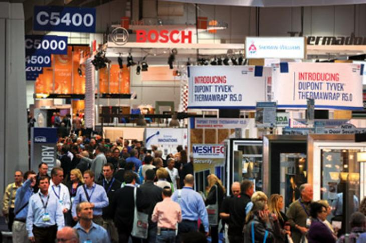 International Builders Show floor