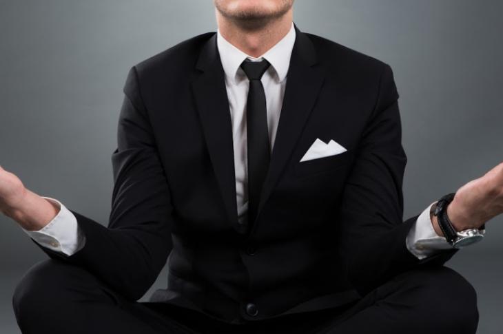 Scott Sedam_Dr. W. Edwards Deming_image of businessman meditating_photo by Andrey Popov / stock.adobe.com