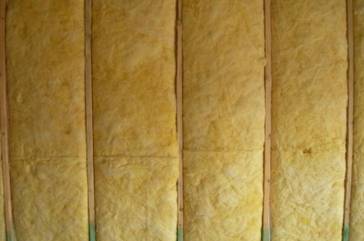 Fiberglass batt insulation