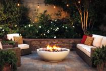 Eldorado Stone has introduced a larger Mezzaluna artisan fire bowl.