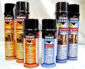 Handi-Seal Window & Door Sealant and Handi-Foam Fireblock  from Fomo Products ar