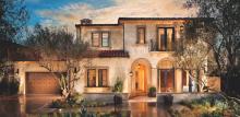 Multigenerational house plan by Robert Hidey Architects, Fiano at Pacific Ridge, Plan 1