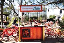 Pavilion Park bike stand