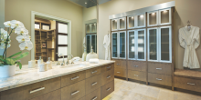 Master Bathroom at the Oasis Evans house review design