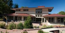 Exterior: Columbus, Ohio, architect Patrick Manley's design for the Universal Design Living Laboratory