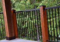 Heritage Top Rail, Durarail, one-piece top rail, wrought iron railings
