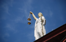 The scales of justice--applied to Centex Homes lawsuit.