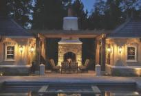 outdoor living, home design, residential design, outdoor kitchen, patio design