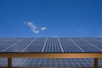 solar energy, green housing, solar panels