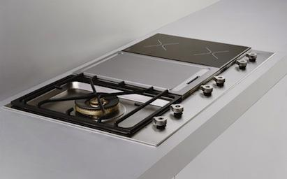 Bertazzoni Design Series Segmented cooktops