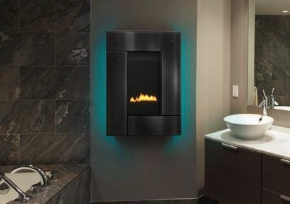 The thinnest AFUE-rated fireplaces ever made, the new REVO Series from Heat & Gl