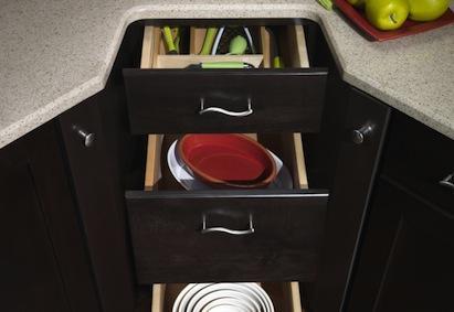 Product of the Week: Merillat's CornerStore corner cabinet system