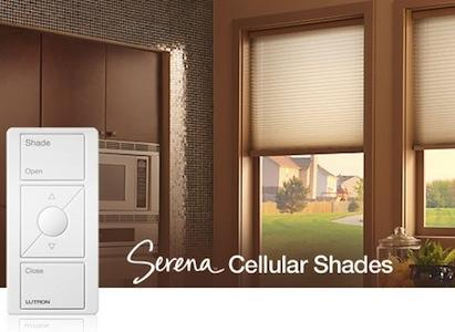 Lutron Serena Remote Controlled Shades Pro Builder