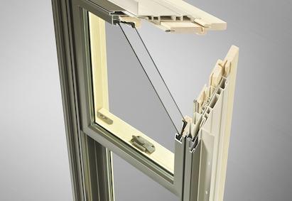 Hurd Windows and Doors, H3 double hung window