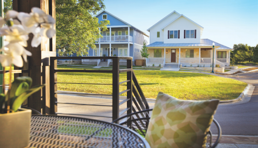 Town Creek, in Brownfels, Texas, aims to attract a wide range of homebuyers.