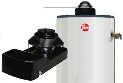 Rheem, damper design, gas-fired water heaters, 101 best new products