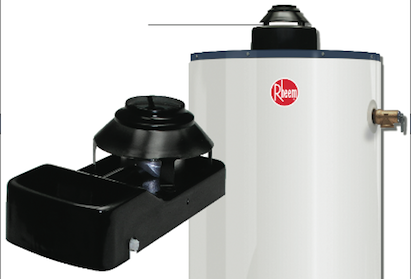 Rheem, damper design, gas-fired water heaters, 101 best new products