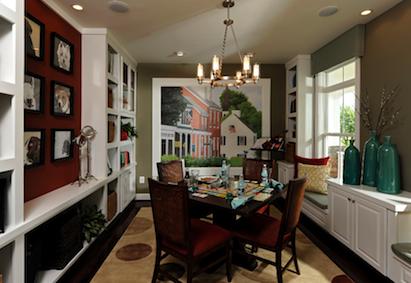 model home, award-winning model homes