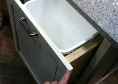 Wellborn Cabinet Access Base Wastebasket