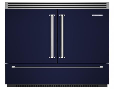 Blue Star French Door model refrigerator